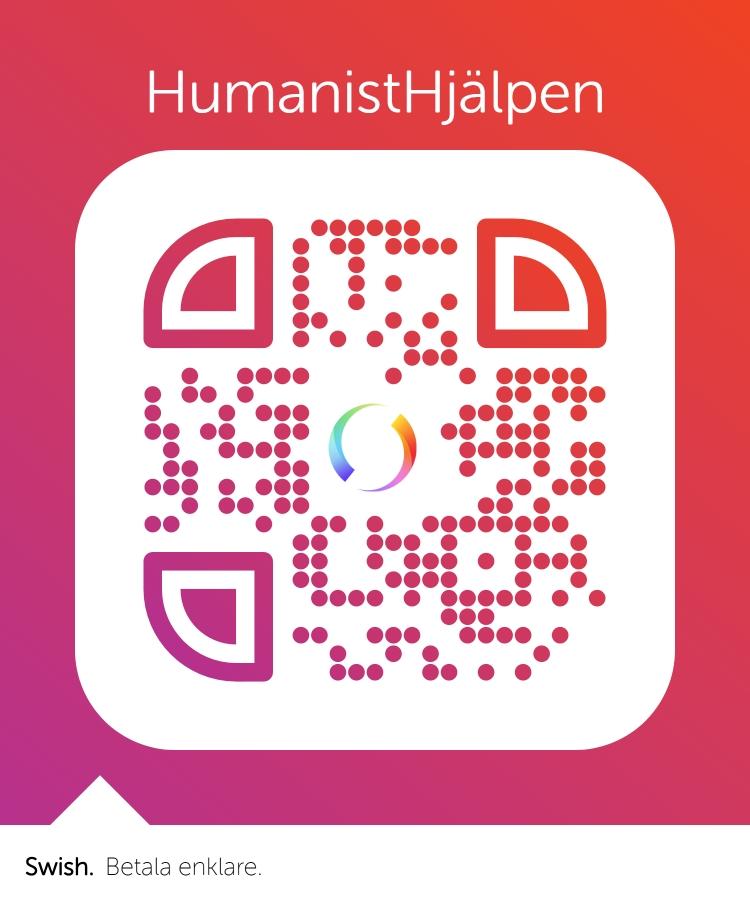 Swish QR HumanistHjälpen